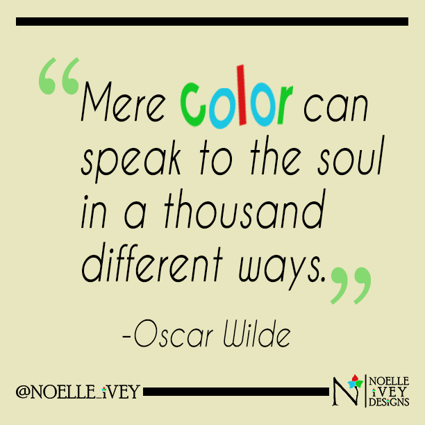 Wilde color quote